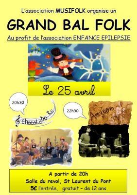 Affiche bal enfance epilepsie